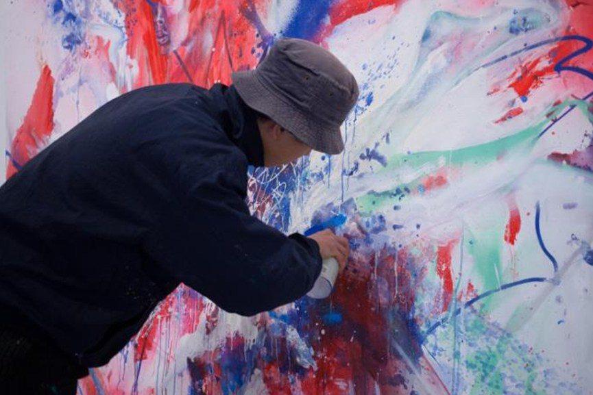 human body painting
