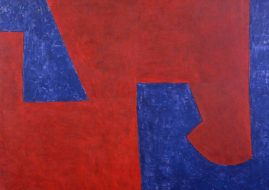 Serge Poliakoff exhibition cheim and reid new york abstract art modernism tachisme