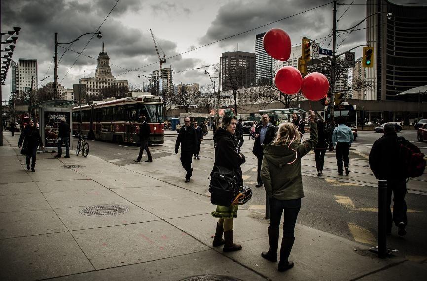 Shane Francescut - Red Baloons - Image courtesy of Shane Francescut