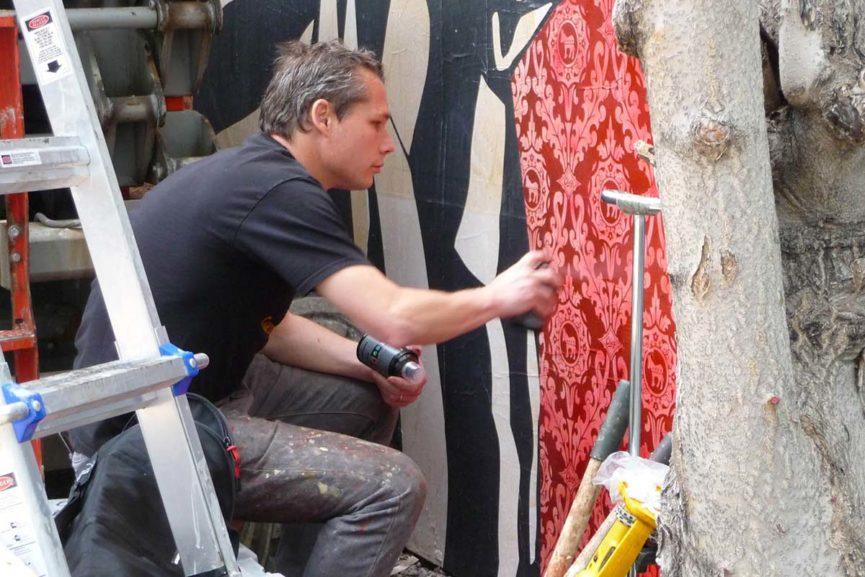 Widewalls Artist of the Week work