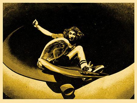 Shepard Fairey-Alva Frontside (Gold)-2009