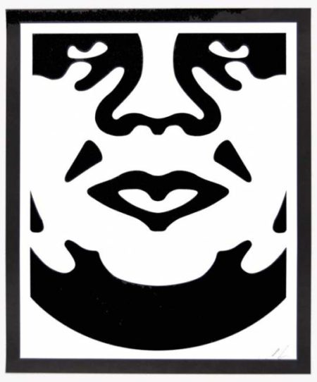Shepard Fairey-Andre the Giant Face-2008