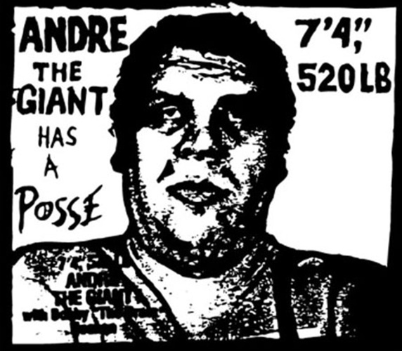 Shepard Fairey - Andre the Giant Has a Posse