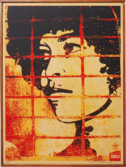 Shepard Fairey-Angela Davis-2003