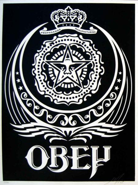 Shepard Fairey-Ankara Black-2005