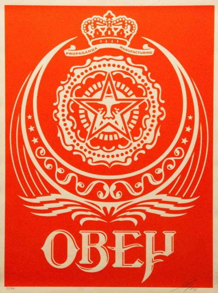 Shepard Fairey-Ankara Red-2005