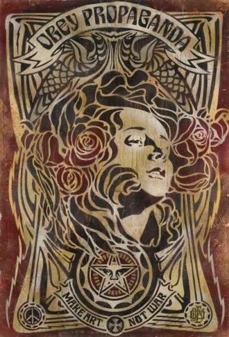 Shepard Fairey-Art Nouveau-2006