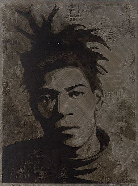 Shepard Fairey-Basquiat-2010