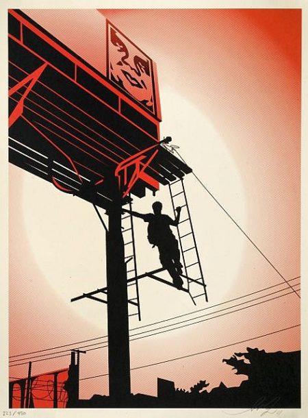 Shepard Fairey-Bayshore Billboard-2011