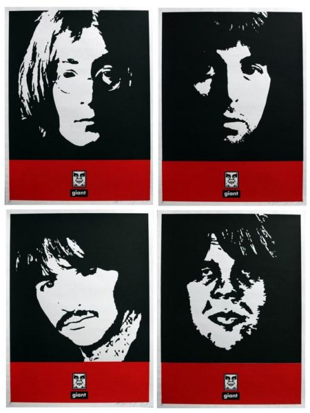 Shepard Fairey-Beatles Set-1996
