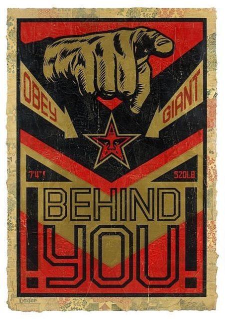 Shepard Fairey-Behind You-2007