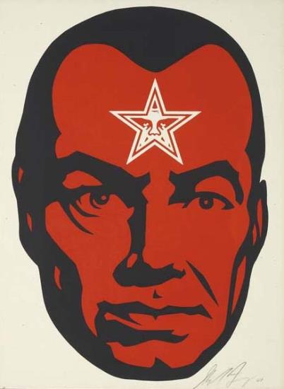 Shepard Fairey-Big Brother 2-2001