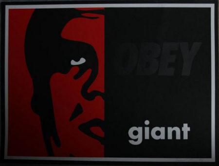 Shepard Fairey-Black On Black-1996