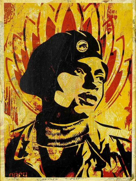 Shepard Fairey-Black Panther-2005