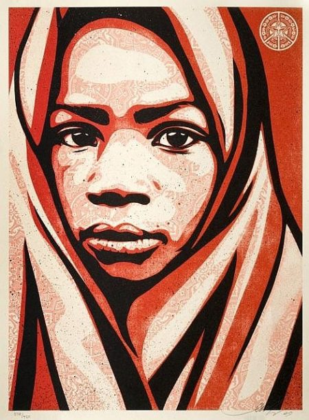 Shepard Fairey-Blanket-2009
