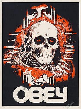 Shepard Fairey-Bones Ripper-2005
