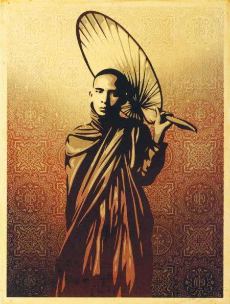 Shepard Fairey-Burmese Monk-2010