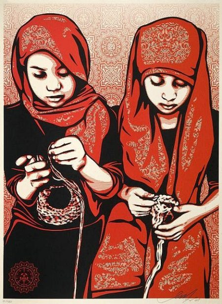 Shepard Fairey-Close Knit-2007