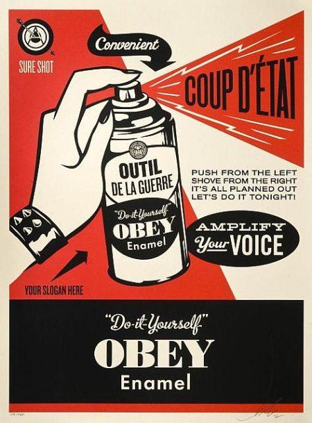 Shepard Fairey-Coup D'Etat-2012