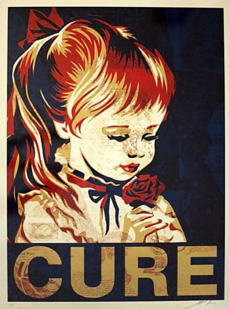 Shepard Fairey-Cure-
