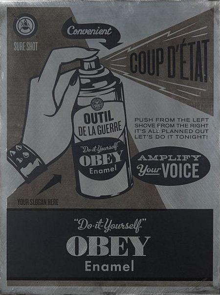 Shepard Fairey-Do it Yourself-2012