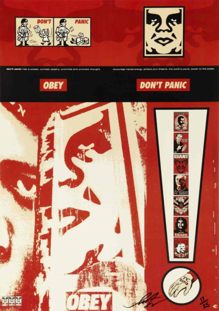 Shepard Fairey-Don't Panic!-