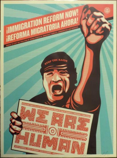 Shepard Fairey-Ernesto Yerena-Shepard Fairey & Ernesto Yerena - We are Human-2009