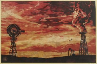 Shepard Fairey-Evolve Devolve-2009