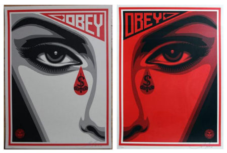 Shepard Fairey-Eye Alert Set-2010