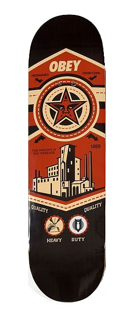 Shepard Fairey-Factory Deck-2008