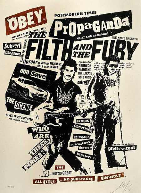 Shepard Fairey-Filth and Fury-2006