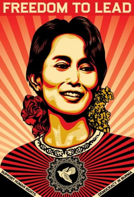 Shepard Fairey-Freedom to Lead-2009