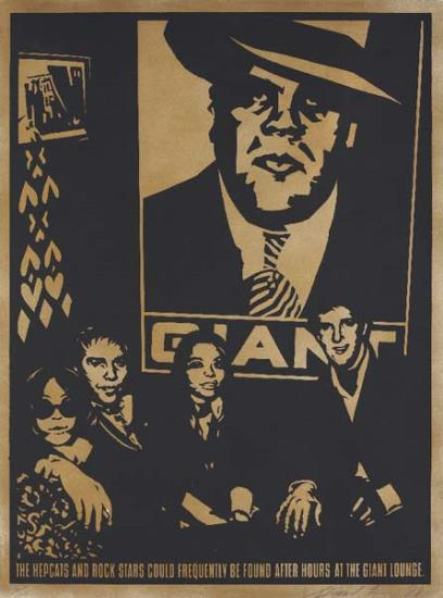 Shepard Fairey-Giant Lounge-1998