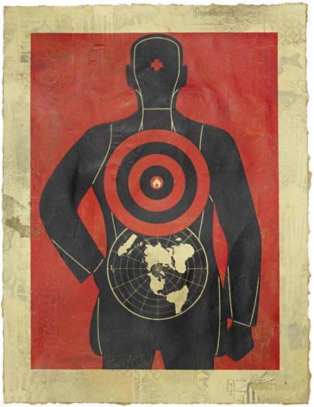 Shepard Fairey-Global Target-2012