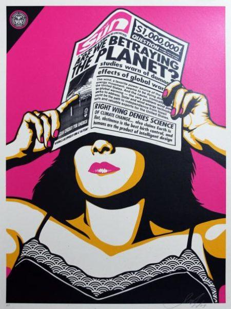 Shepard Fairey-Global Warning-2009