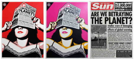 Shepard Fairey-Global Warning Set-2009