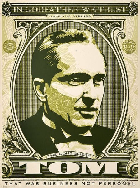 Shepard Fairey-Godfather Tom-2006