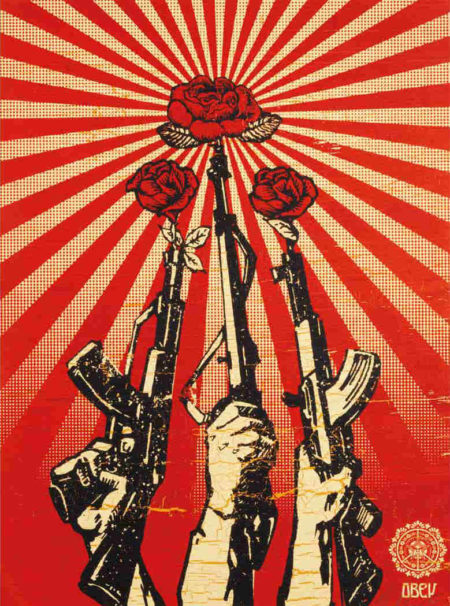 Shepard Fairey-Guns and Roses-2006