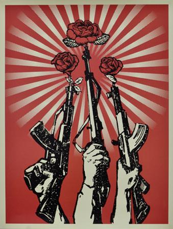 Shepard Fairey-Guns and Roses-2007