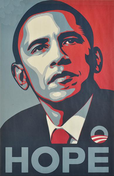 Shepard Fairey-Hope-2008