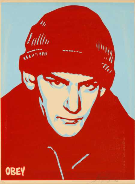 Shepard Fairey-Ian Mackaye-2003