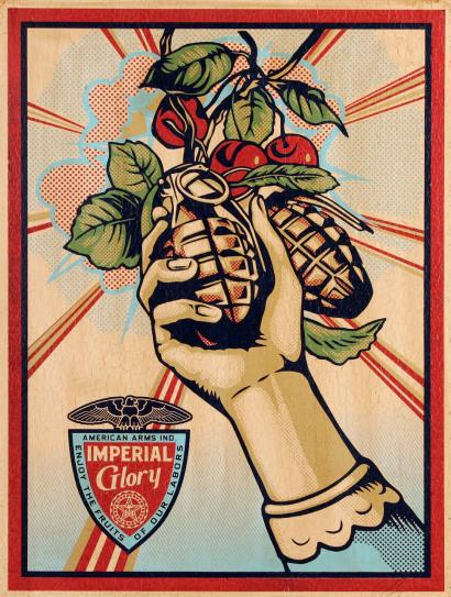 Shepard Fairey-Imperial Glory-2011