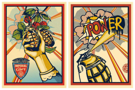 Shepard Fairey-Imperial Glory/Pow(er)-