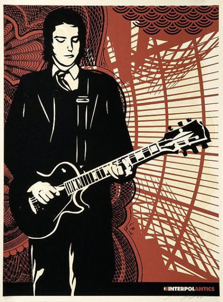 Shepard Fairey-Interpol Paul-2005