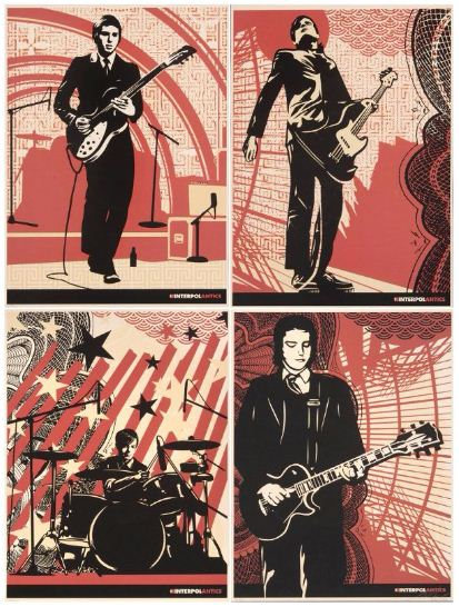 Shepard Fairey-Interpol (Set)-2004
