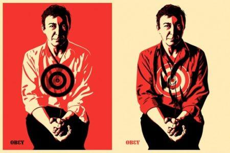 Shepard Fairey-Jasper Johns (Obey)-2009