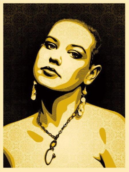 Shepard Fairey-Jessica-2009