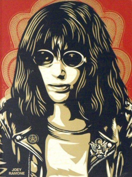 Shepard Fairey-Joey Ramone-2005
