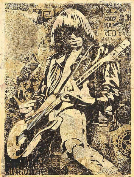Shepard Fairey-Johnny Ramone HPM-2008