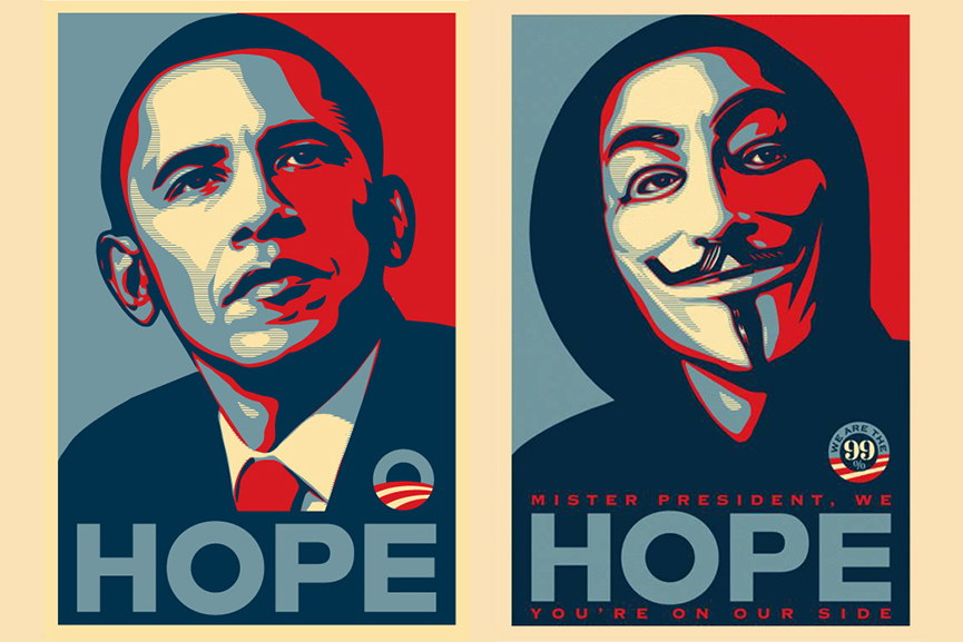 Shepard Fairey page screen 2009 poster print 2015 time black 2014 free peace